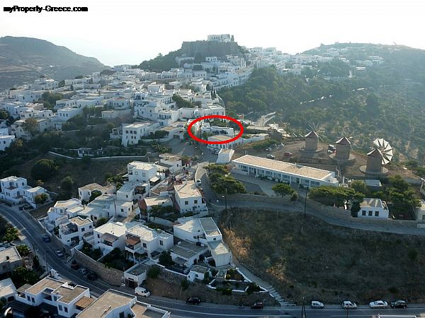 Photo: Villa for sale in Chora - Patmos Island in Greece