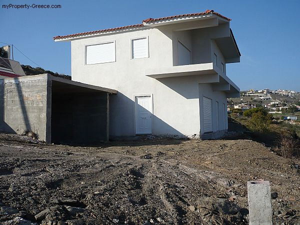 Photo: Close to beach two family house in Keratea near Athens